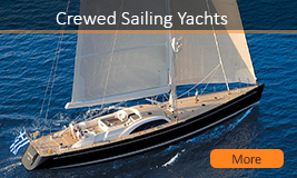Crewed Sailing Yachts Rental Greece