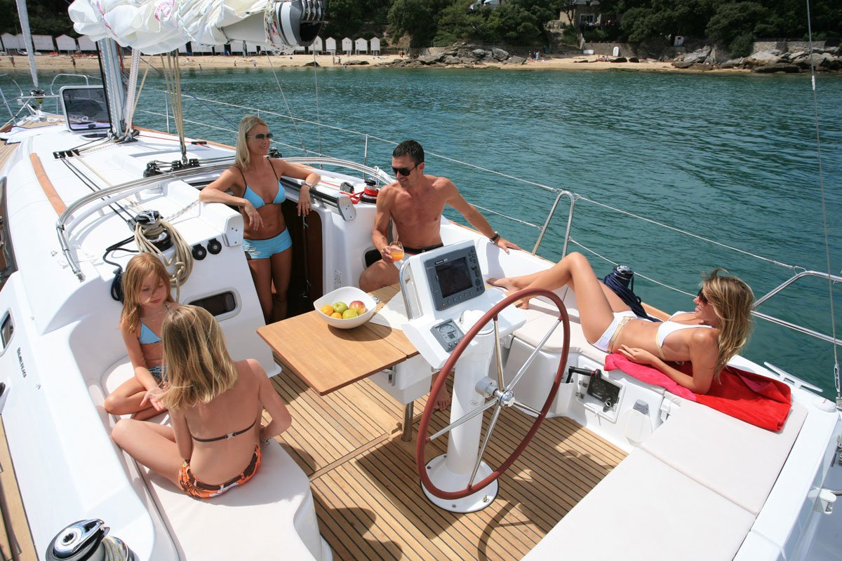 Sailing holidays in Greece for families
