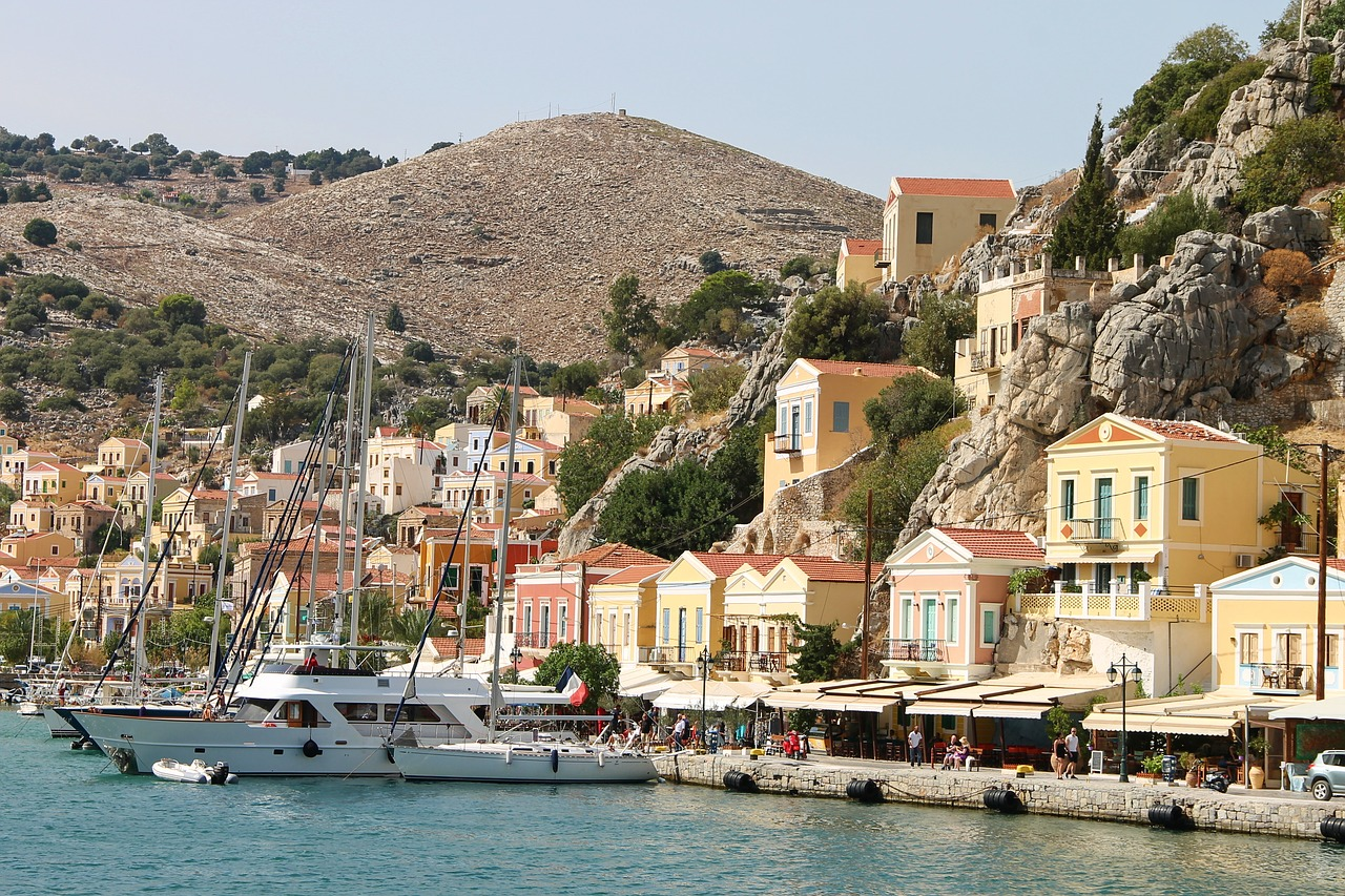 Things To Do When Visiting Symi Greece on a Yacht Charter Holiday