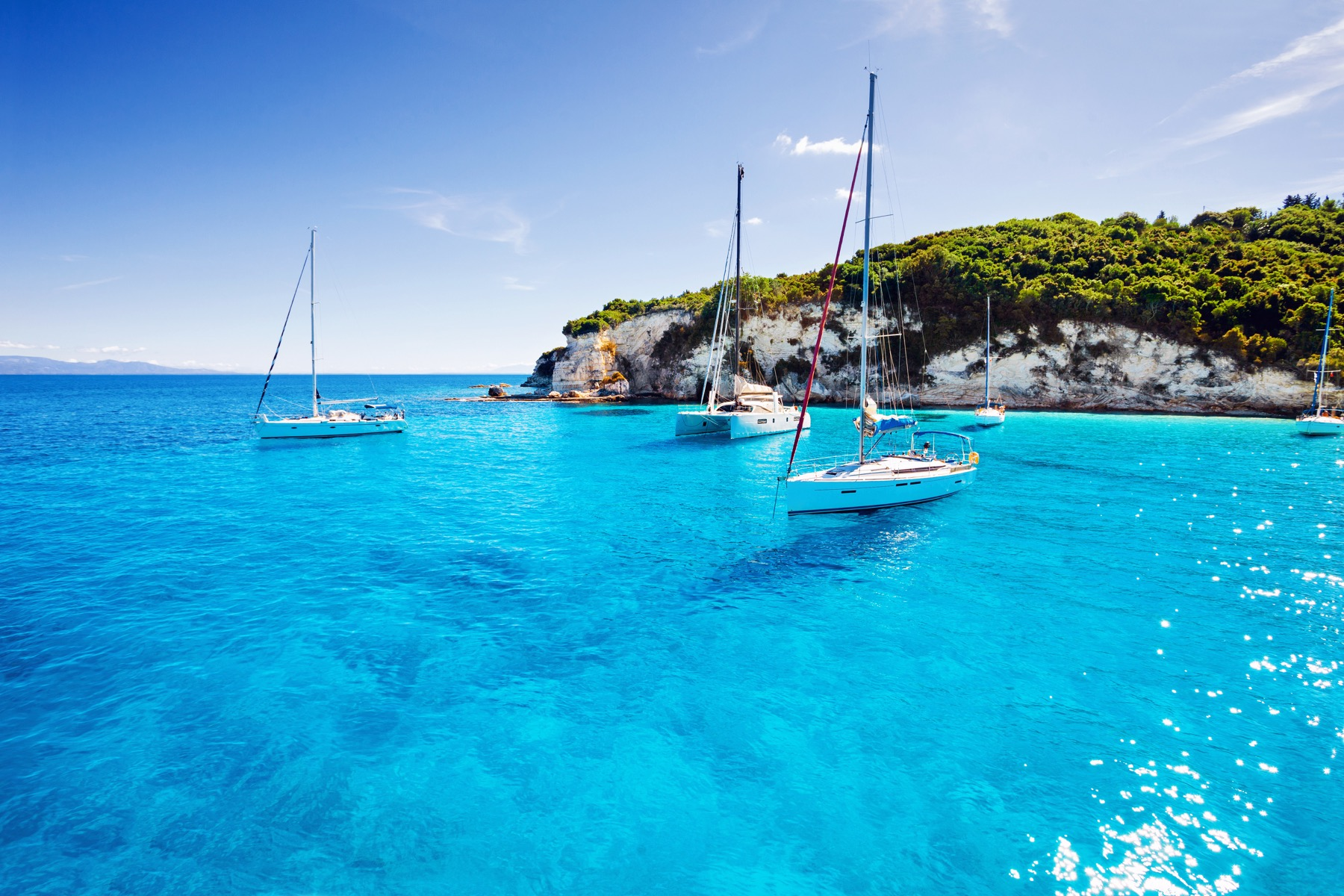 The Best Sailing Season in Greece