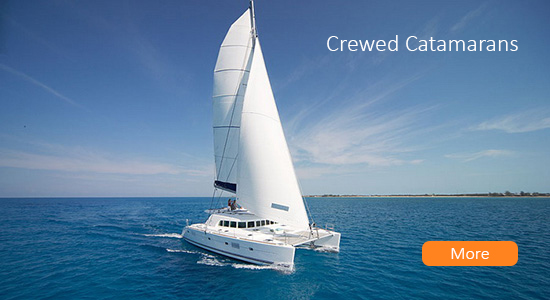 Crewed Catamarans Rental Greece