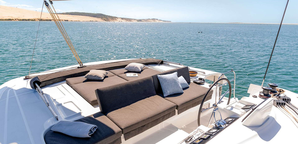 Catamaran yacht charter Greece