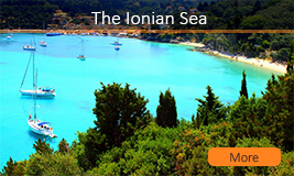 ionian sailing routes