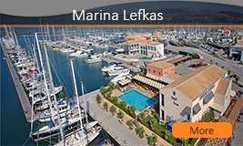 Lefkas Marina Greece