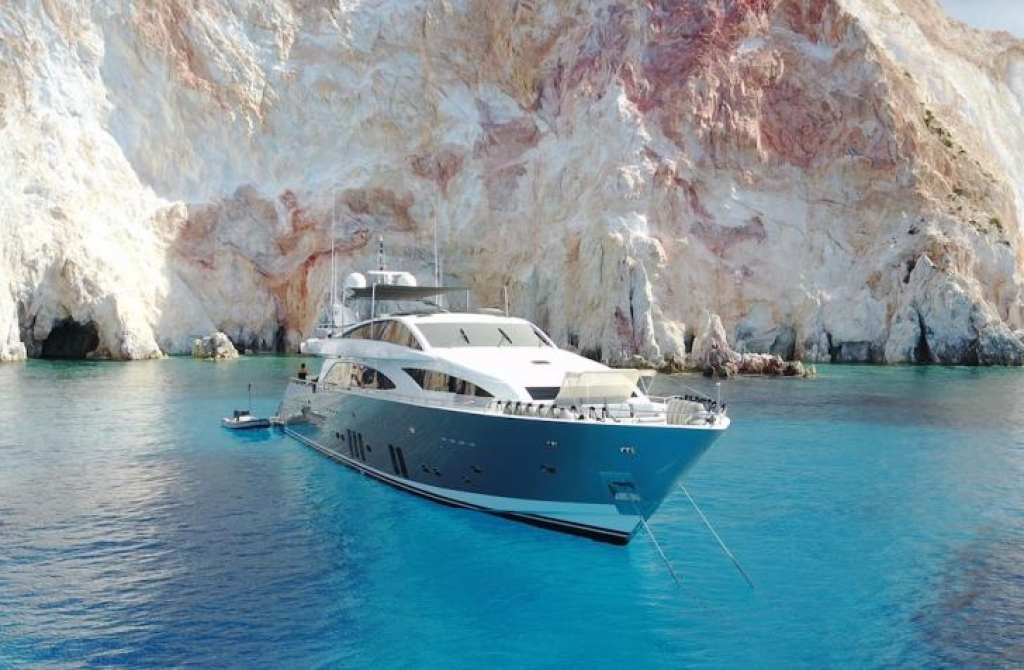 Explore the beauty of Ionian Islands through a crewed yacht charter