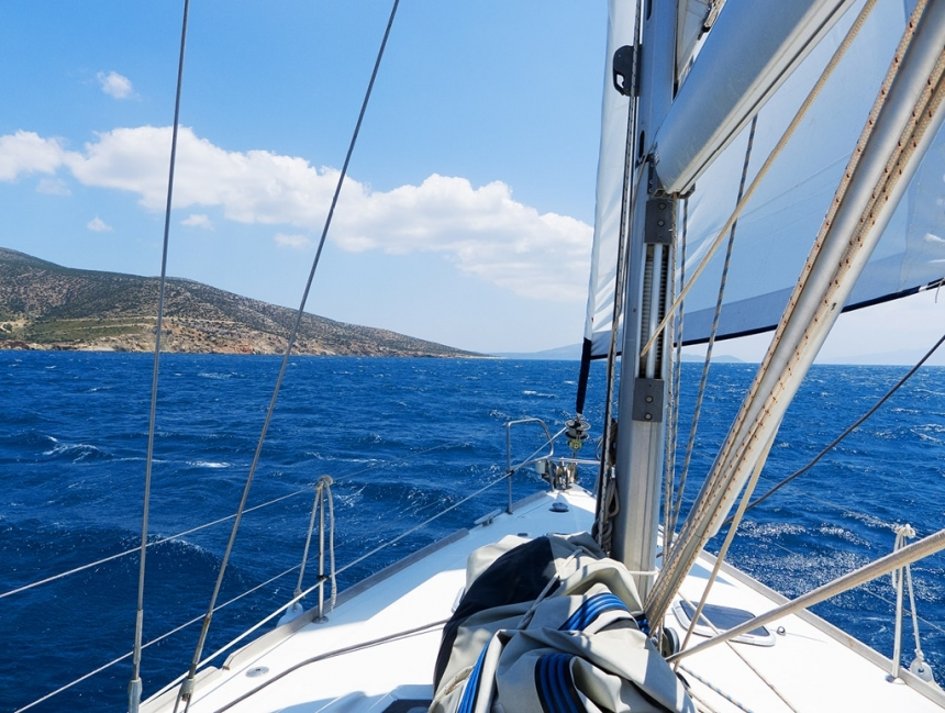 Sailing in Greece, The Cyclades Islands