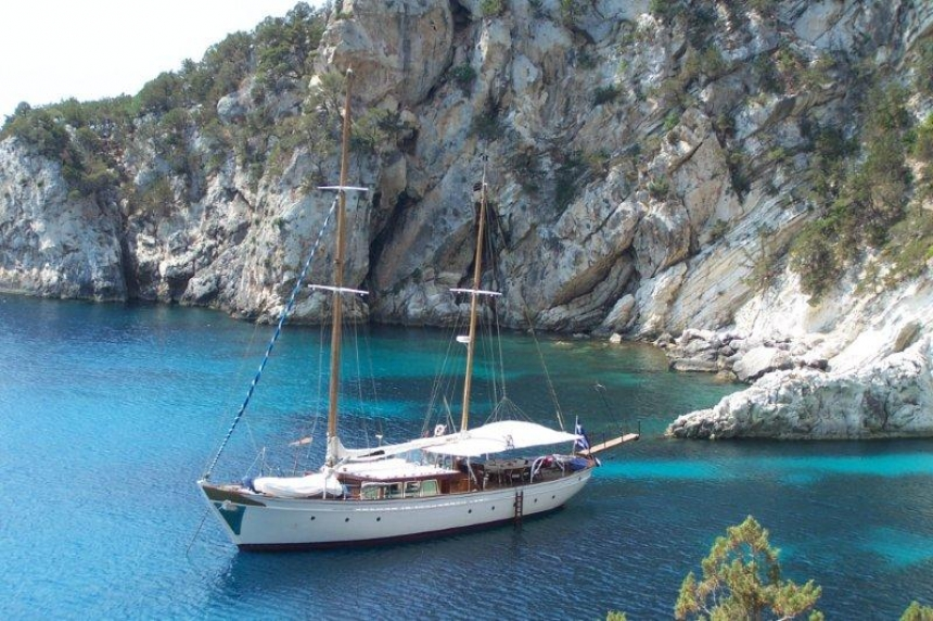 Sailing the Mediterranean
