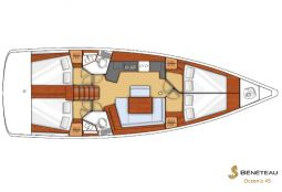 beneteau_oceanis_45_layout
